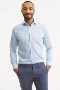 Profuomo slim fit overhemd, Lichtblauw