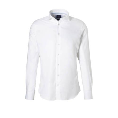 Profuomo overhemd PP0H0A027 in het wit