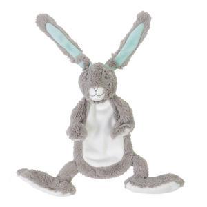 konijn grijs Twinedoekje knuffel 30 cm