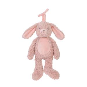 konijn Rosi muziek knuffel 26 cm