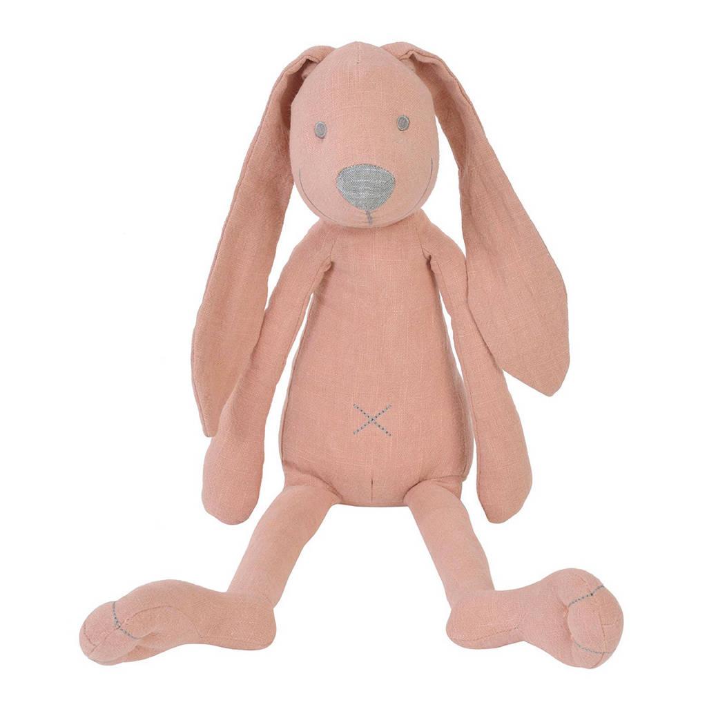 Happy Horse linnen konijn Richie roze knuffel 41 cm, Roze