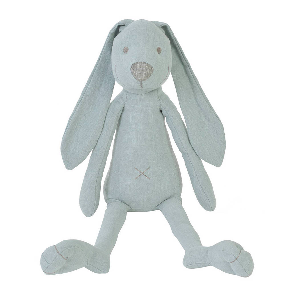 Happy Horse linnen konijn Richie lagoon knuffel 41 cm, Mintgroen