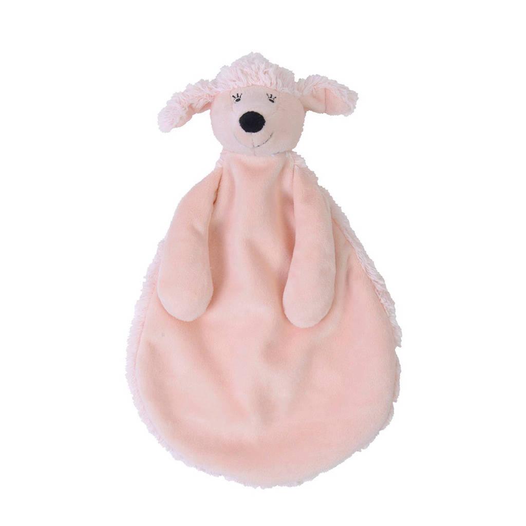 Happy Horse poedel Pearl knuffeldoekje, Roze