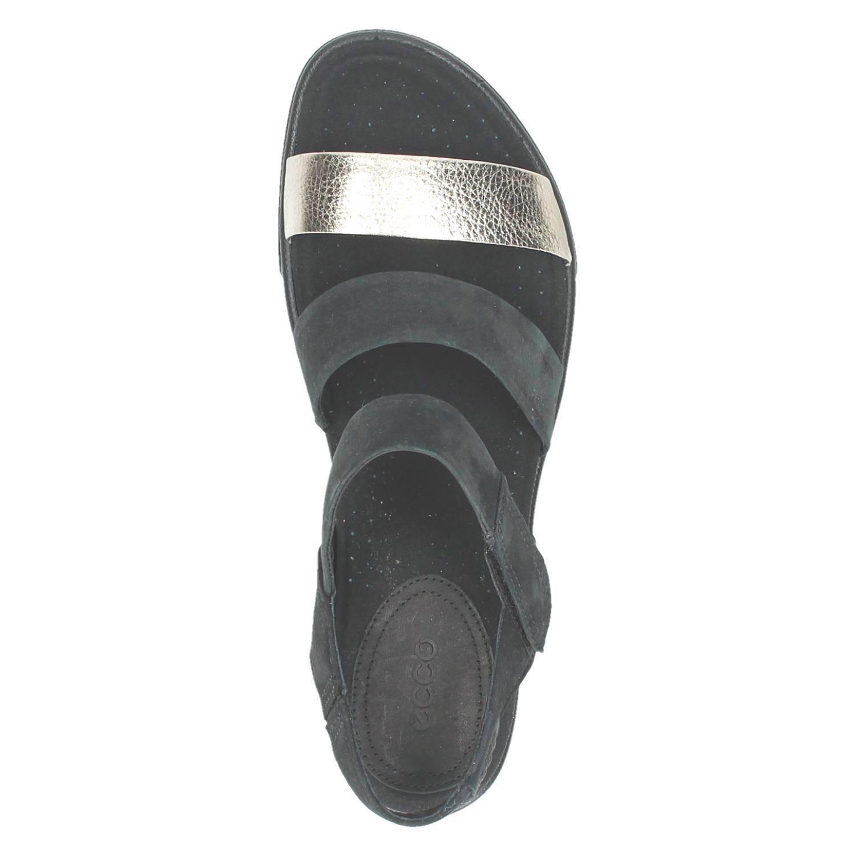 Damara leren sandalen met nubuck