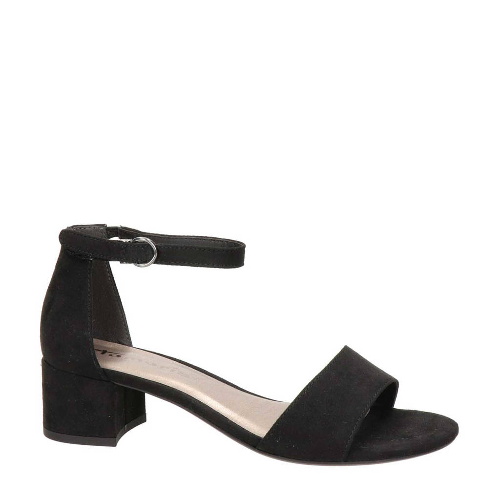Tamaris   sandalen, Zwart