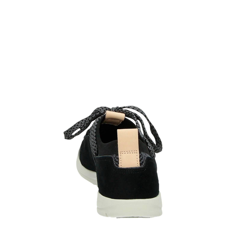Clarks Tri Amelia dames lage sneakers grijs