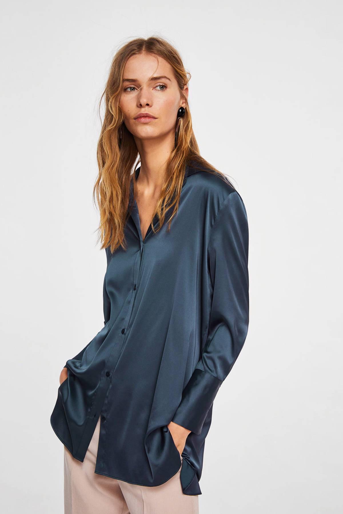 satijnen blouses