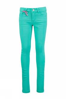 Toyacool skinny fit jeans groen