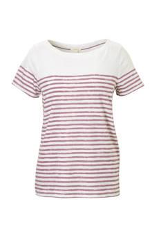 Women Casual T-shirt met strepen