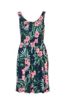 Women Casual jurk met bloemenprint