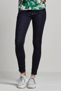ESPRIT Women Casual slim fit jeans regular waist donkerblauw, Donkerblauw