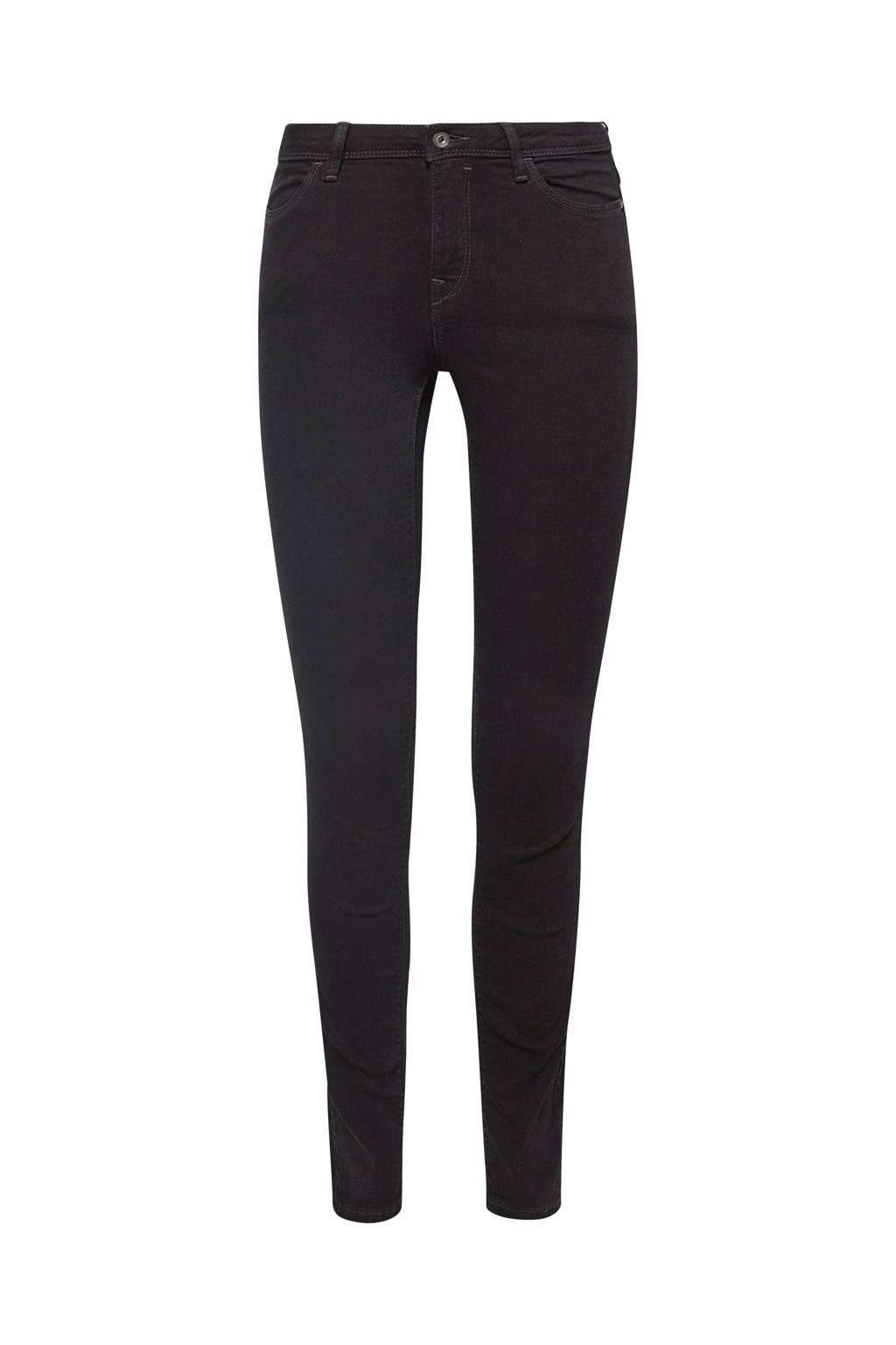 edc Women skinny jeans, Zwart