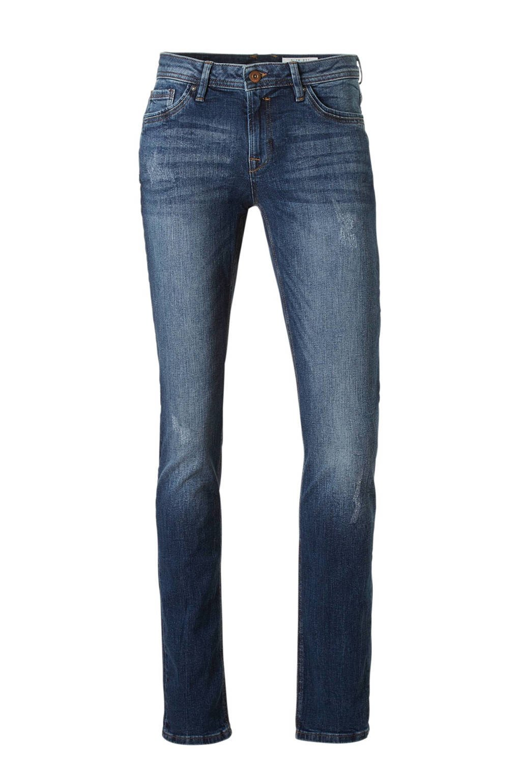 edc Women slim fit jeans, Blauw