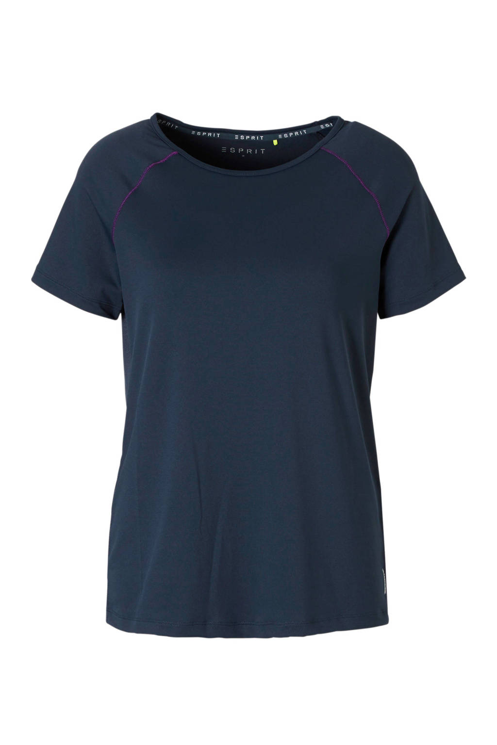ESPRIT Women Sports T-shirt donkerblauw, Donkerblauw