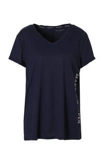ESPRIT Women Sports sport T-shirts donkerblauw (dames)