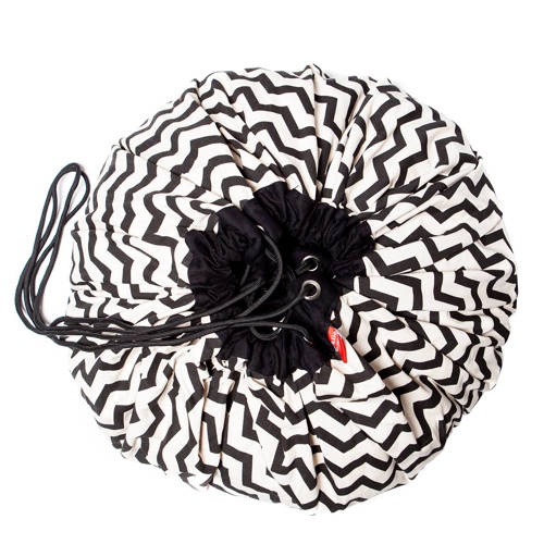 Play&Go zigzag opbergzak zwart kopen