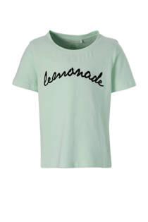 LMTD T-shirt Namiba mintgroen