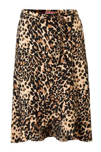 overslagrok met luipaard print