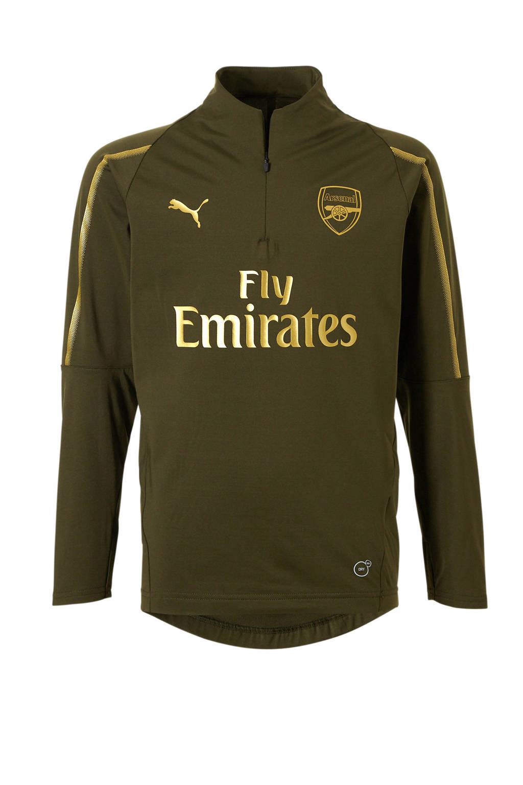Puma Junior Arsenal FC voetbalshirt, Groen