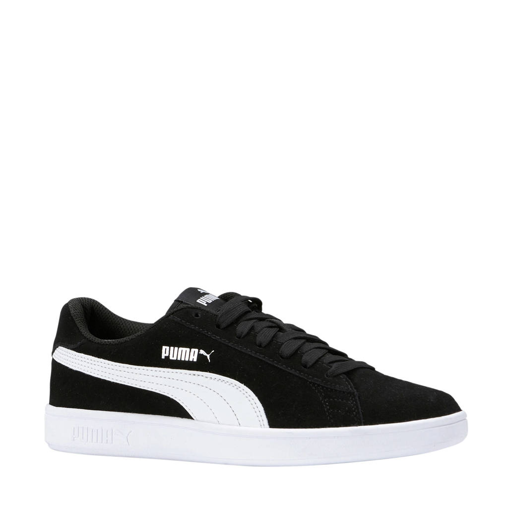 Puma   Smash v2 sneakers zwart, Zwart/wit