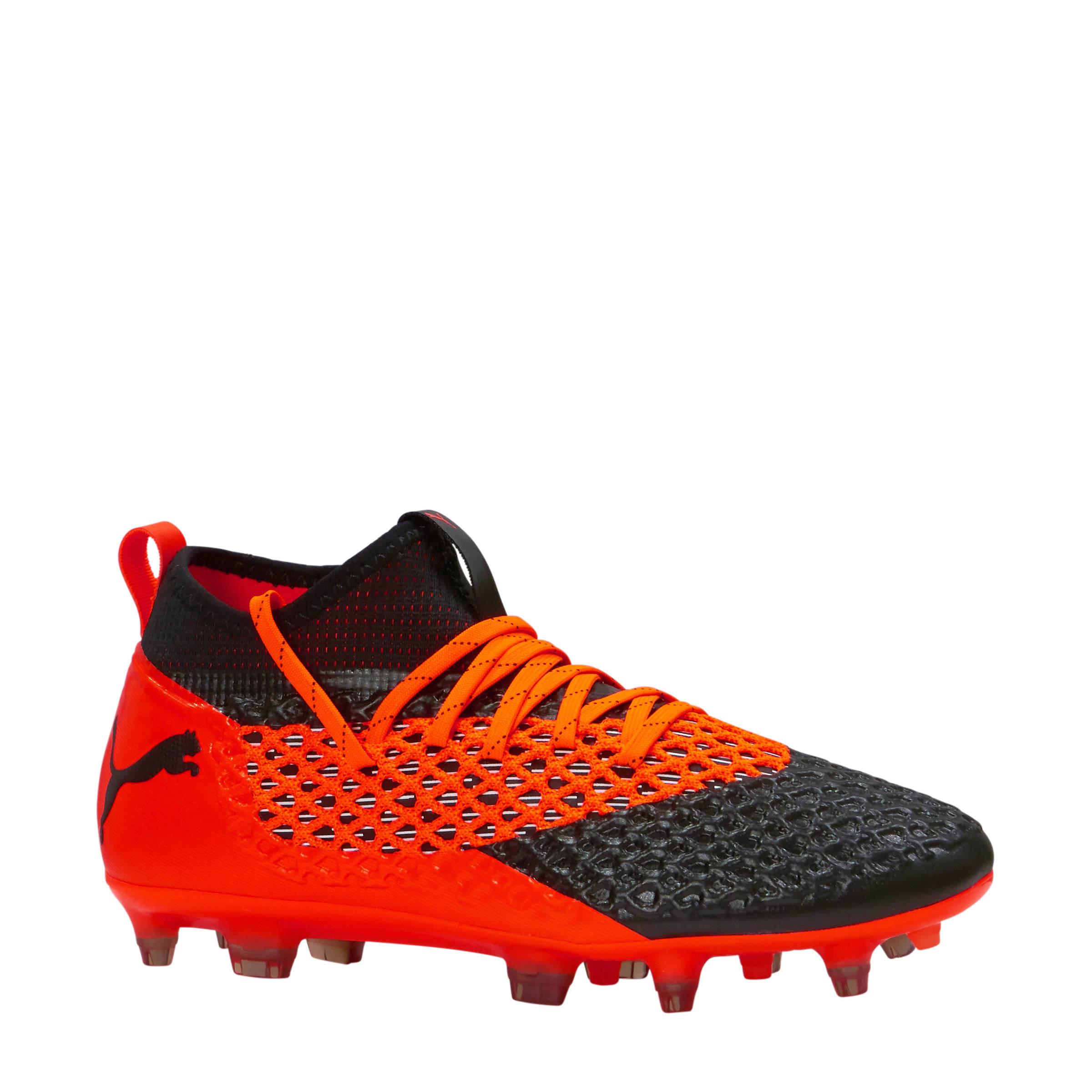 voetbalschoenen Future 2.2 Netfit FG/AG oranje