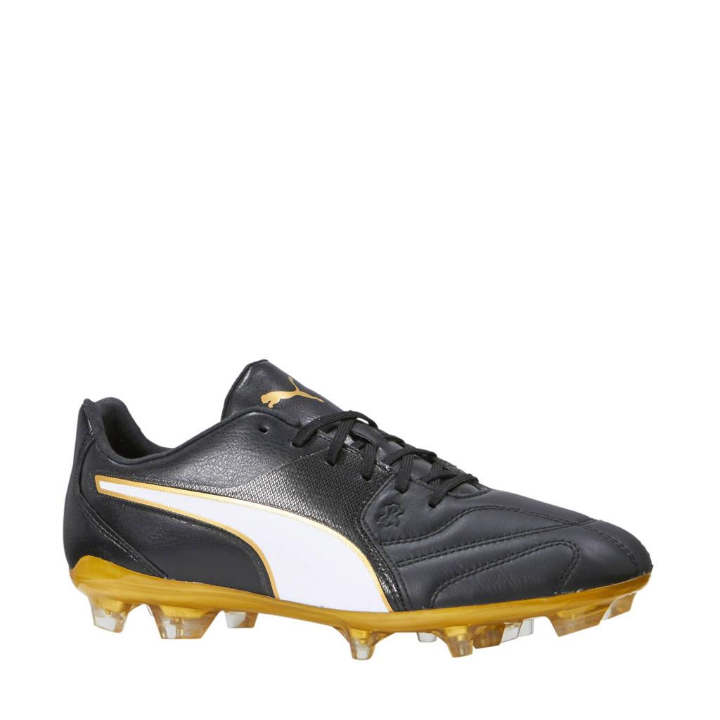 e40ecc7daed Puma Capitano II FG voetbalschoenen, Zwart/beige/goud