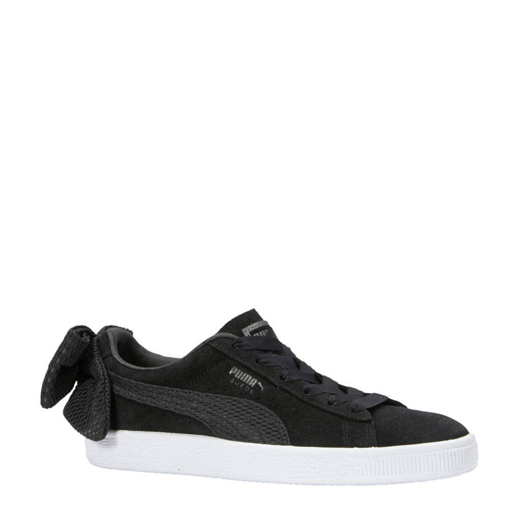 Puma Suede Bow Uprising sneakers zwart  0d3eb4614