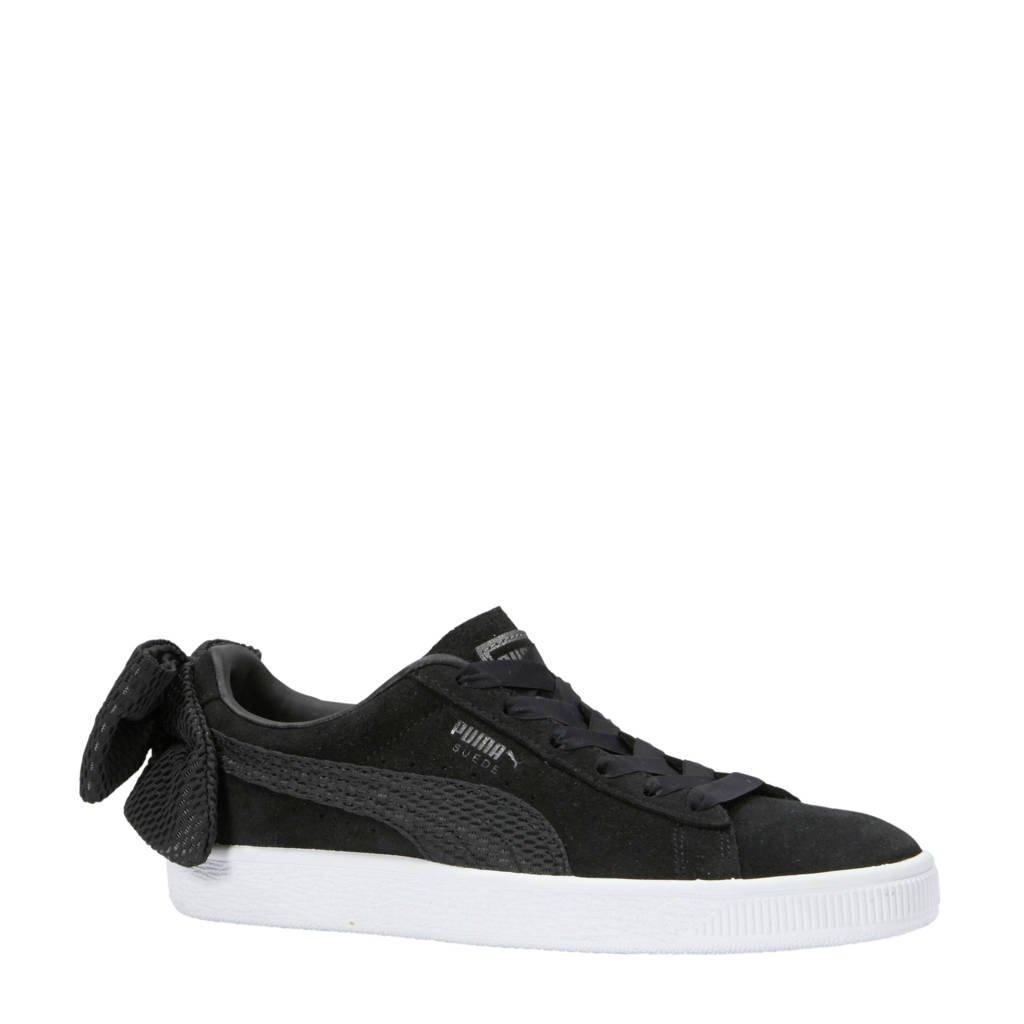 Puma  Suede Bow Uprising sneakers zwart, Zwart