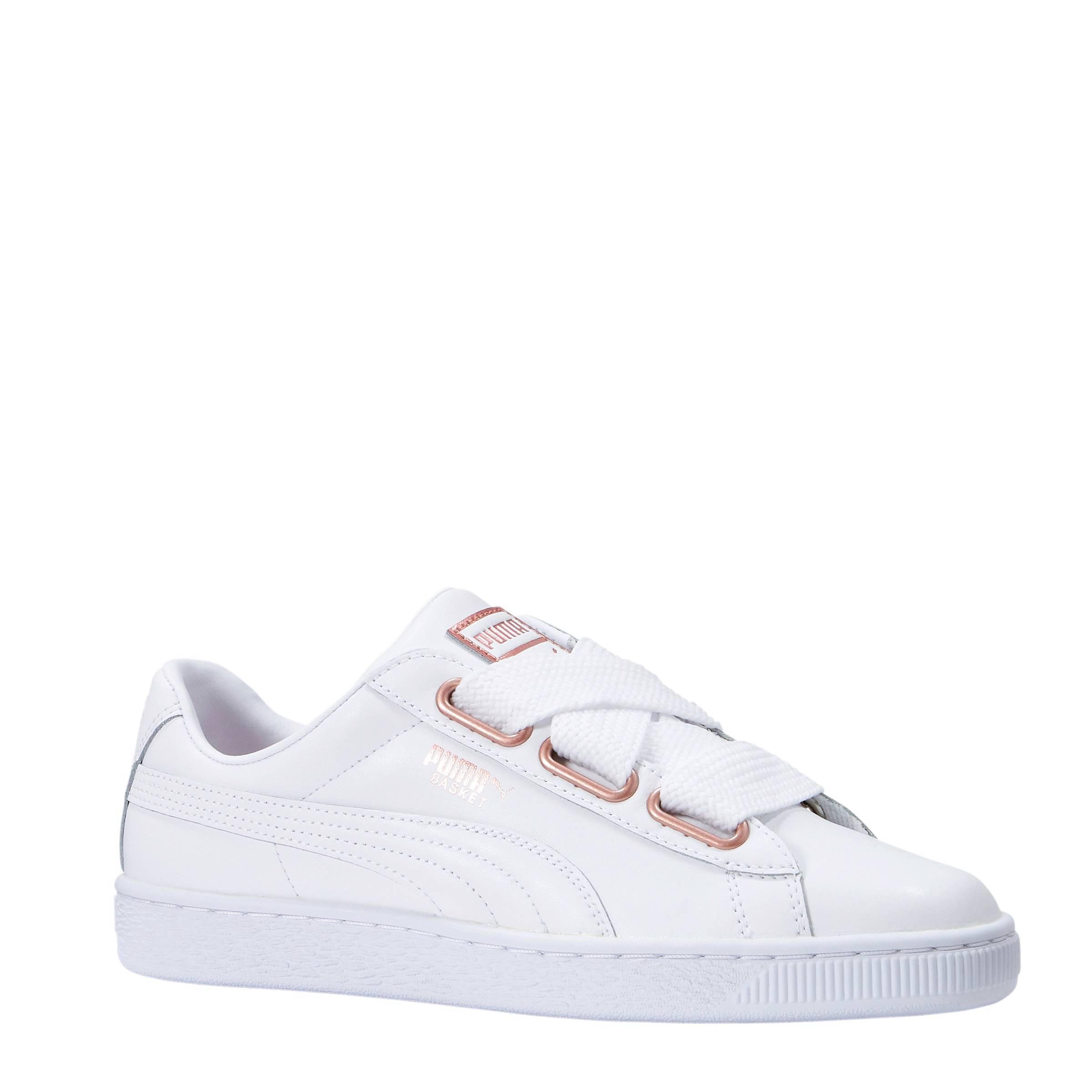 Basket Heart sneakers wit
