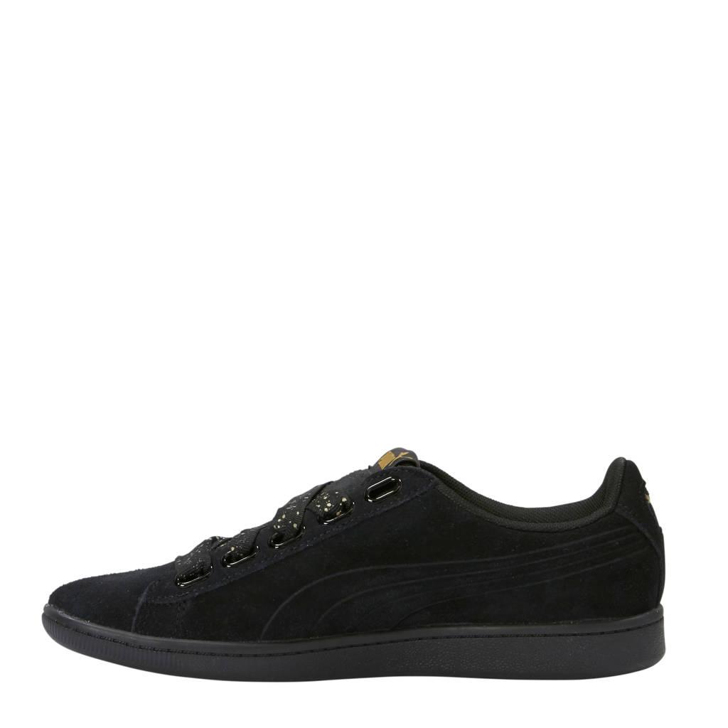 Sneakers Vikky Puma Dots Suède Zwart Ribbon Pv8pwvxqg7