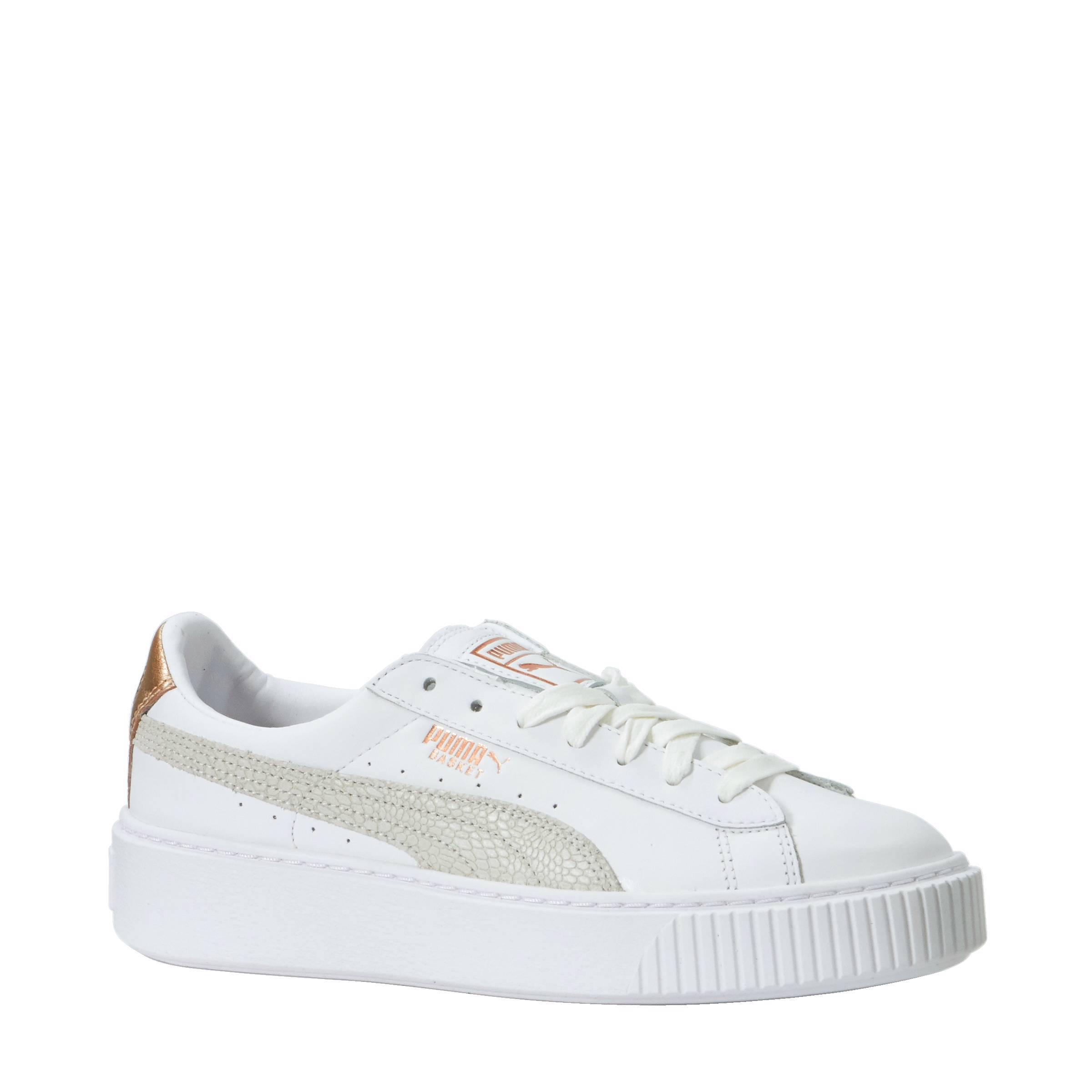 Puma Basket Platform Euphoria RG sneakers | wehkamp