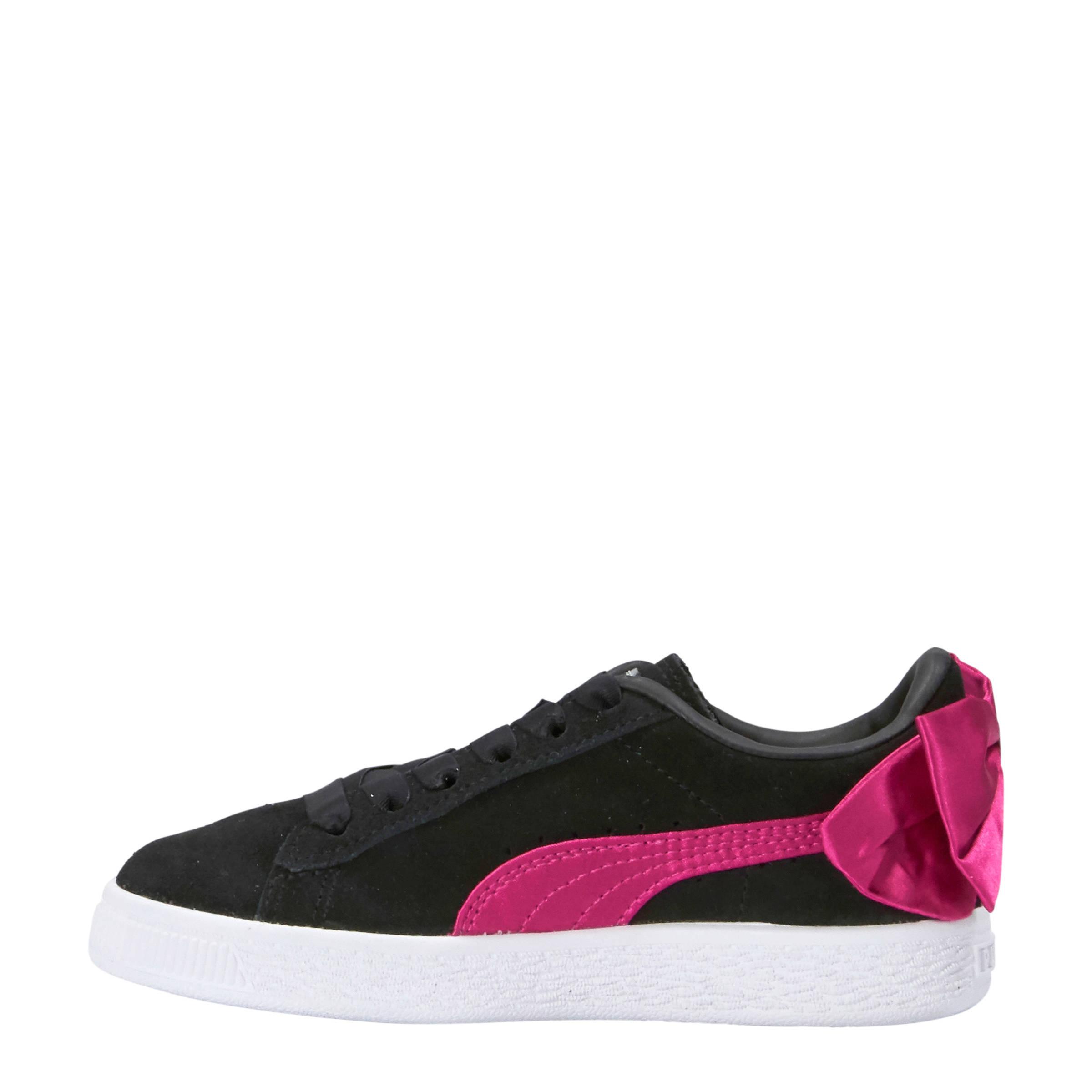 Puma Suède Bow AC PS sneakers roze | wehkamp