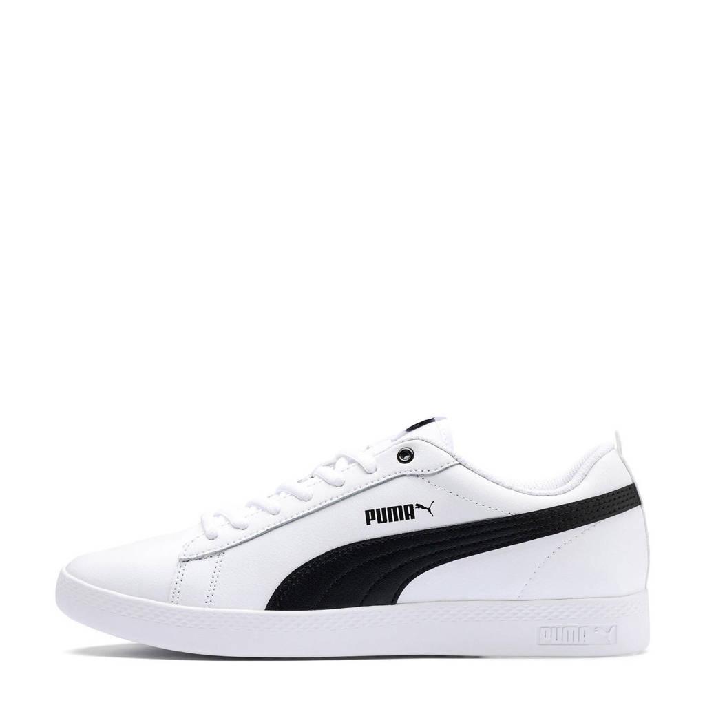 c112c32cd90 Puma Smash Wns v2 L sneakers, Wit/zwart