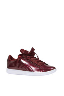 Puma Vikky Ribbon P sneakers bordeauxrood (dames)