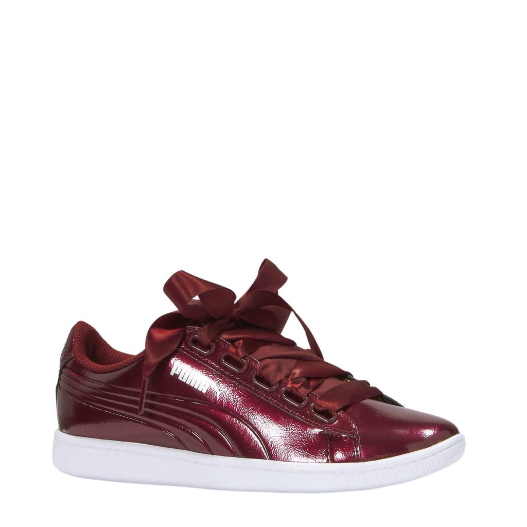 Puma Vikky Ribbon P sneakers bordeauxrood, Bordeauxrood