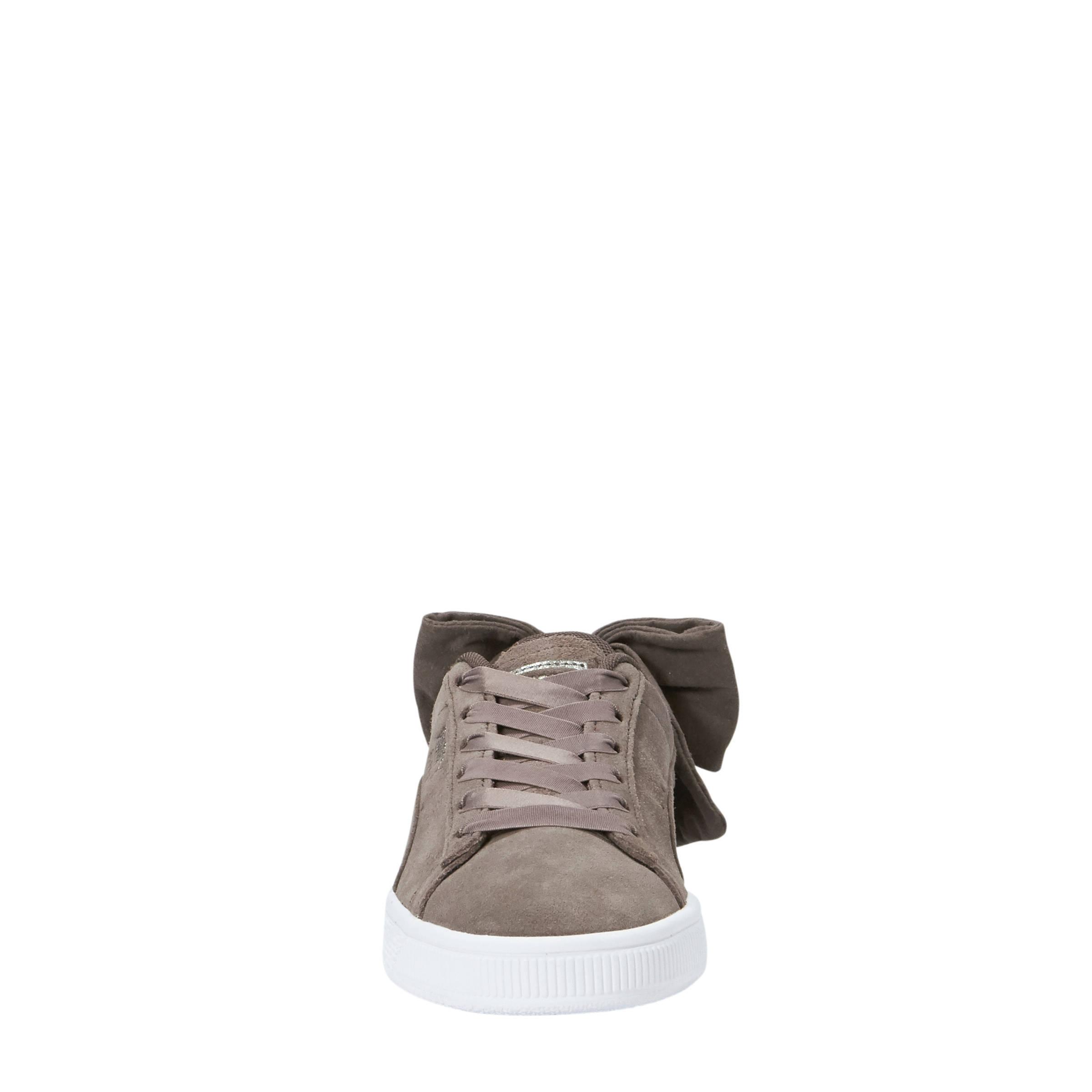 Puma Suède Bow sneakers mokka | wehkamp