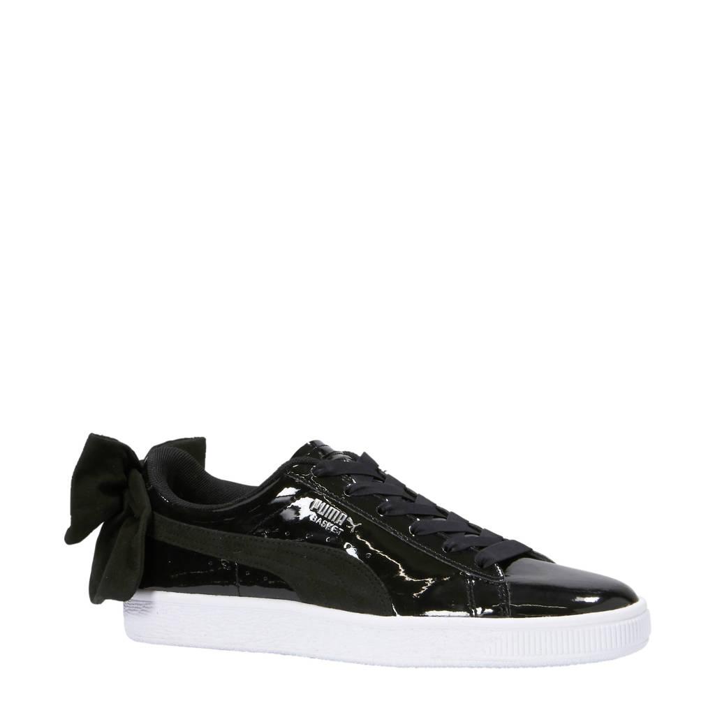 Puma  Basket Bow SB sneakers zwart, Zwart