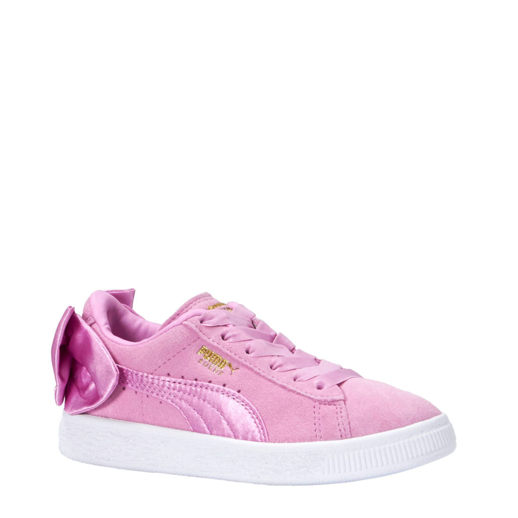 Puma  Suède Bow AC PS sneakers roze, Roze