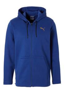 Puma   sportvest blauw (heren)