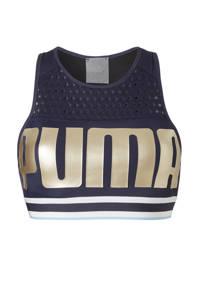 Puma / sportbh blauw