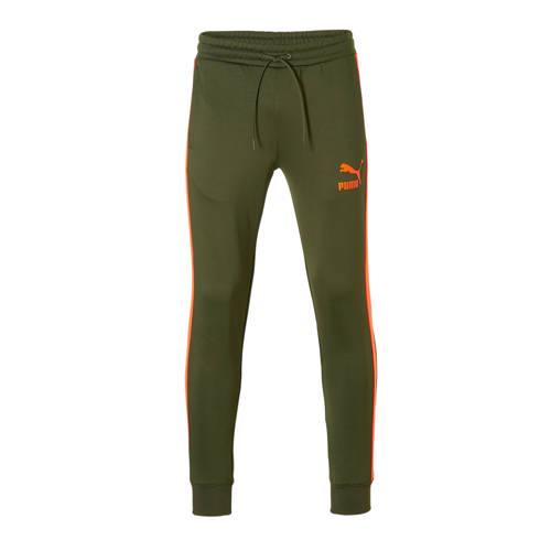 sportbroek groen-oranje
