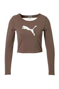 Puma / Puma sport T-shirt taupe