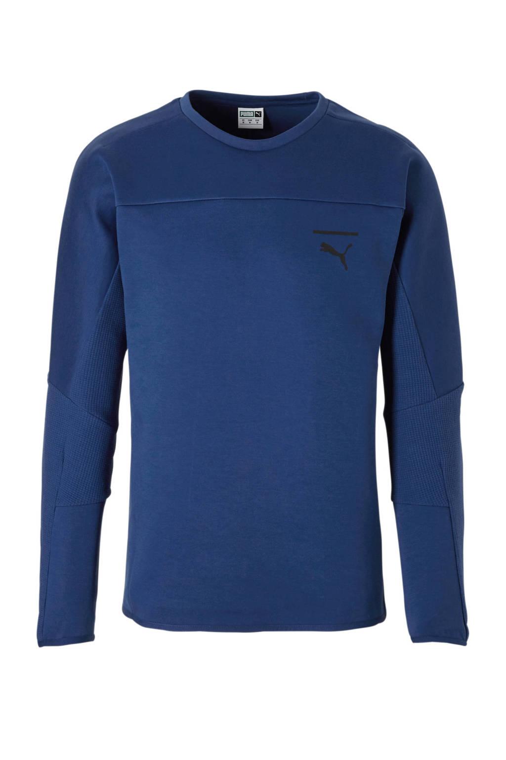Puma   sweater, Blauw