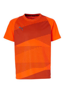 Junior  sport T-shirt oranje