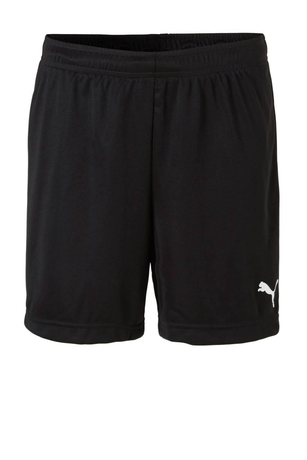 Puma Junior  sportshort zwart, Zwart