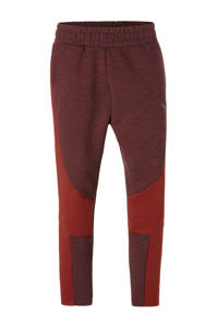 Puma / 7/8 joggingbroek donkerrood