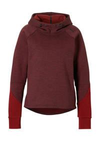 Puma / hoodie donkerrood