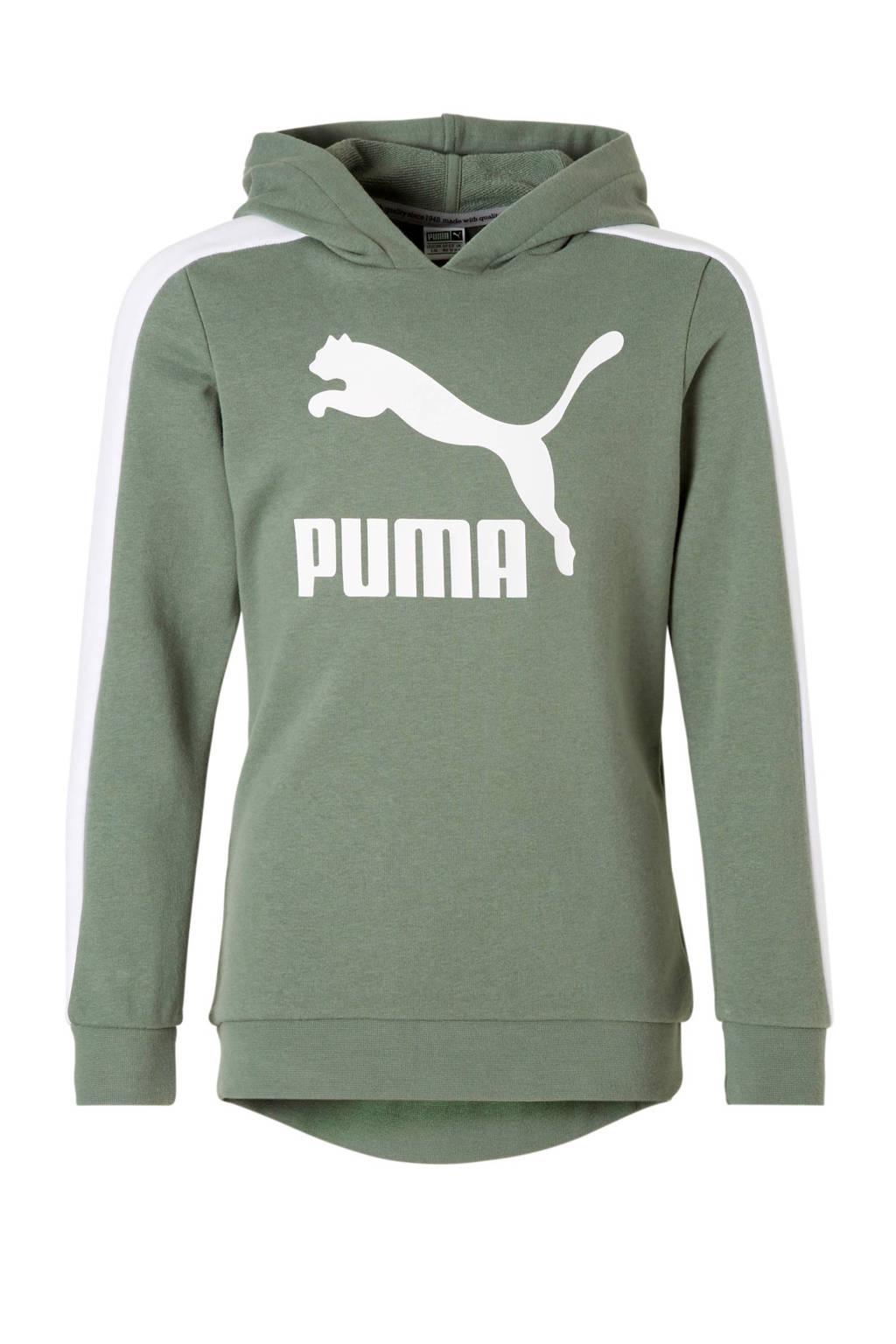 Puma hoodie groen, Groen