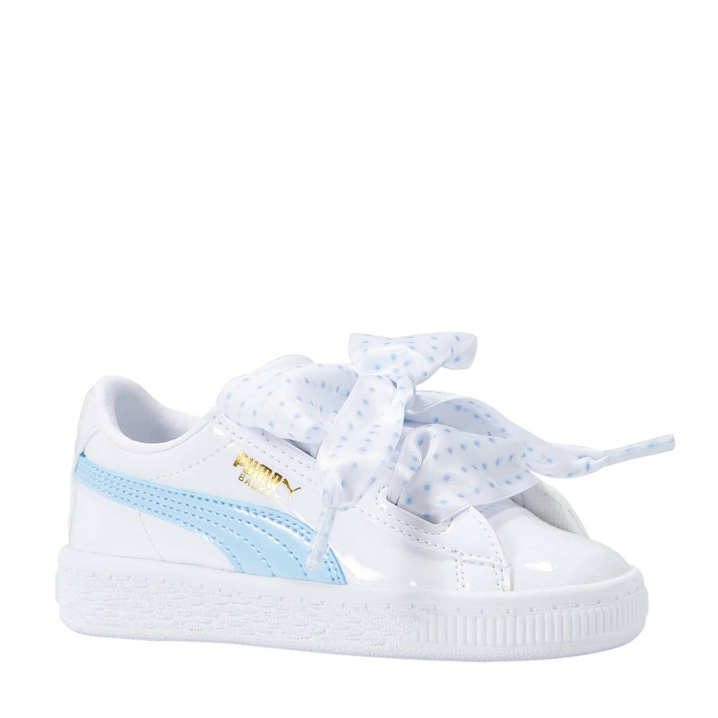 new styles 51c00 5457d Puma Basket Heart Stars INF sneakers wit | wehkamp
