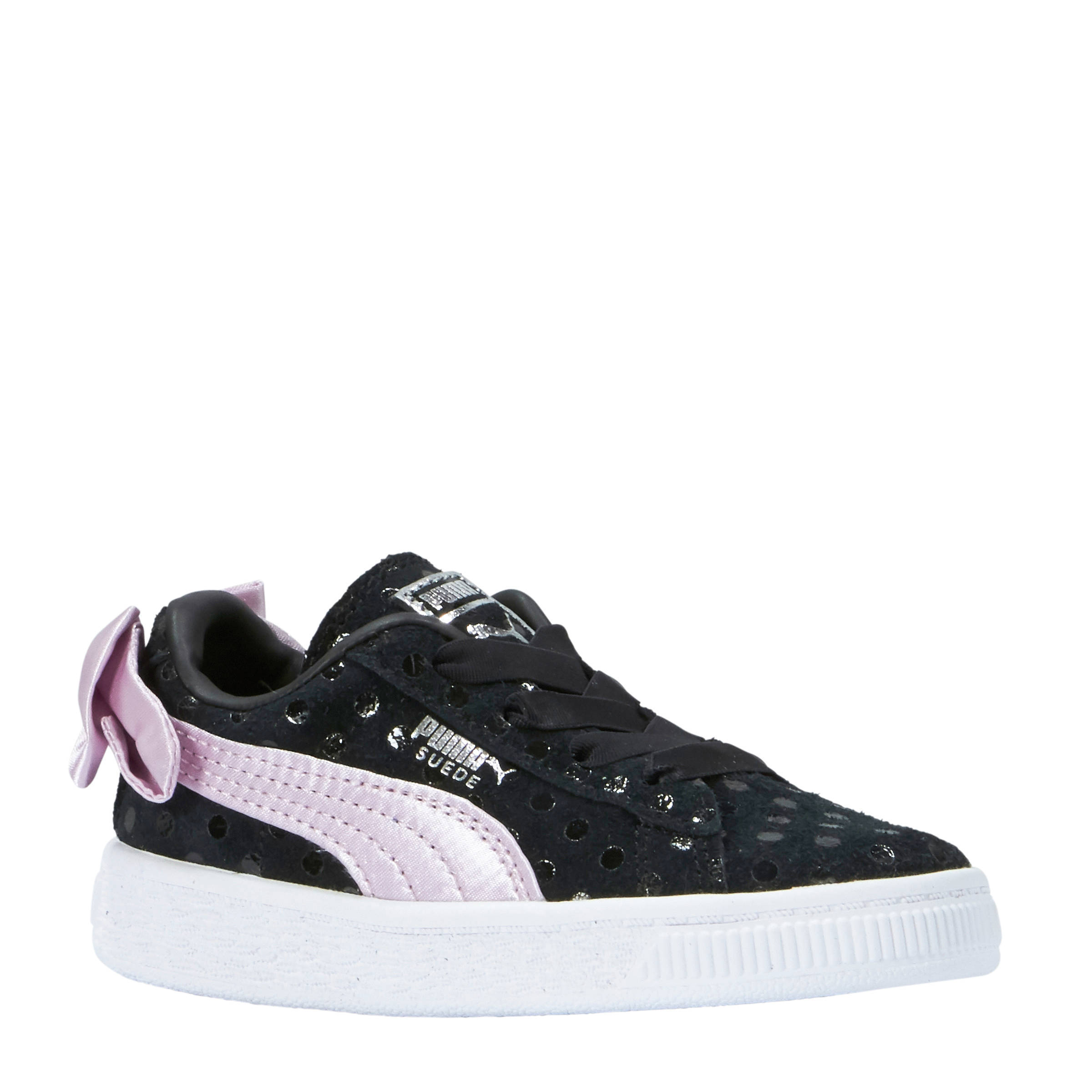saf21c9 puma suede bow dots sneakers